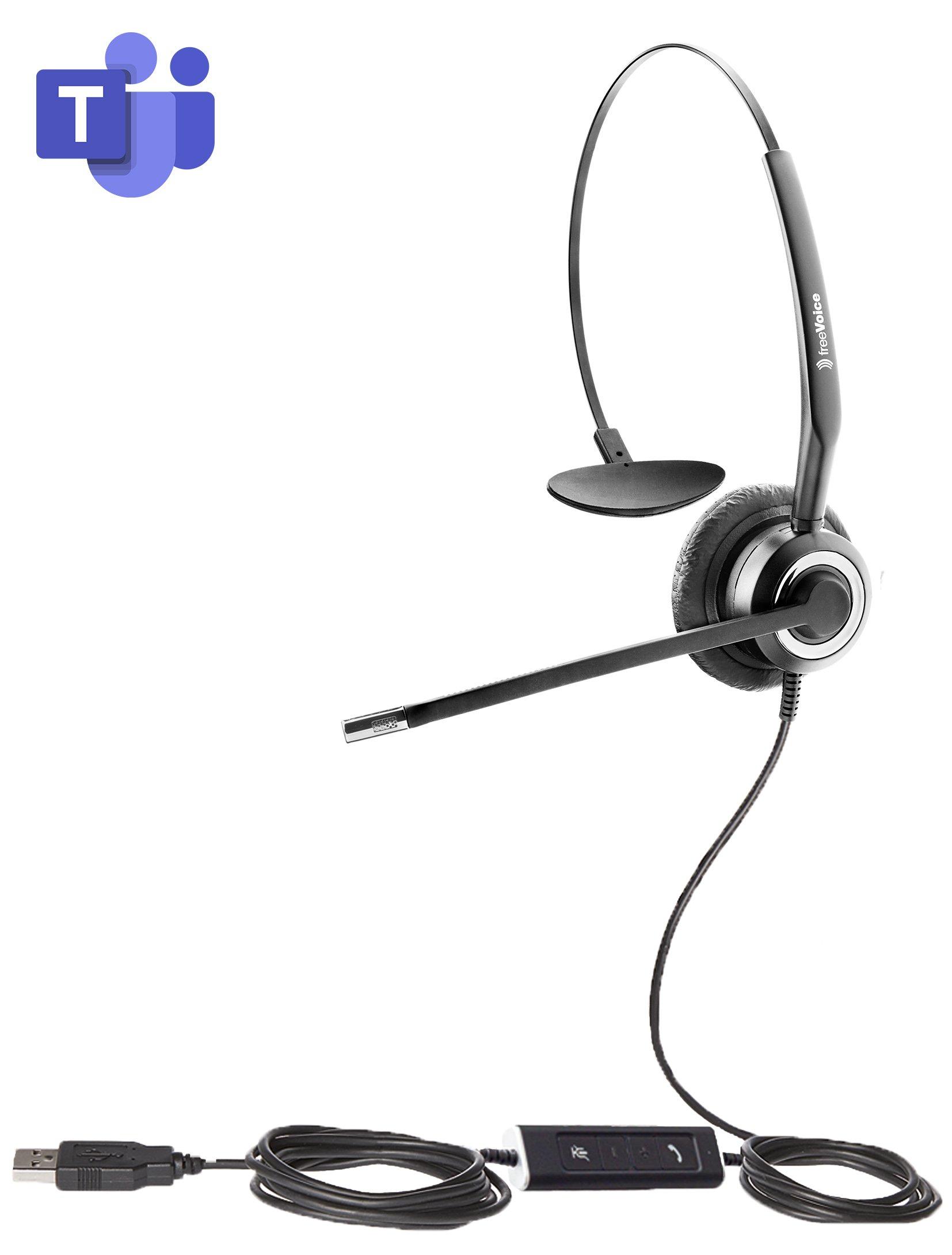 freeVoice SoundPro 412 UC Mono NC (USB-A)